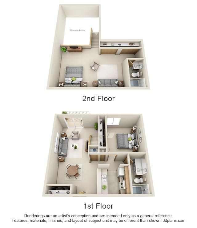 3D Floor Plan Image 1 For The The Waterfall Floor Plan Of Property moreover 450 Sq Feet Studio Apartment Floor Plan besides Madison Court Apartments Studio Floor Plans together with 3D Floor Plans 3 Bedroom Square Feet furthermore Straw Bale House Plan With Courtyard. on 450 square feet studio apartment floor plans