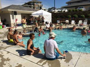 Aspen Hill pool party