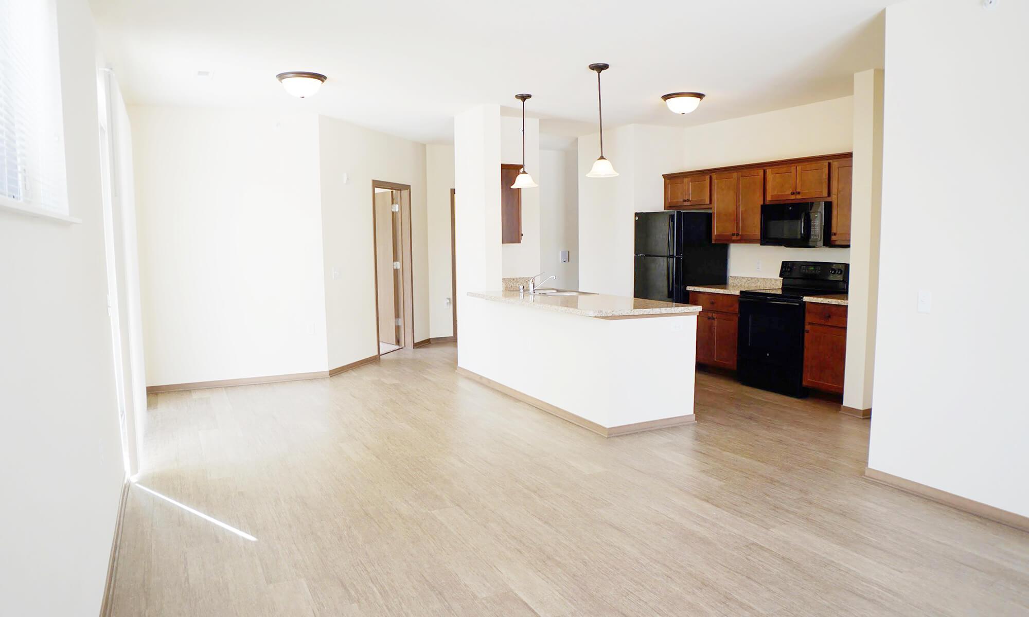 2B 2B Lilac Living Kitchen 2